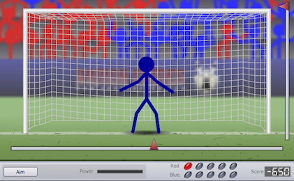Screenshot of Penalty Master 2