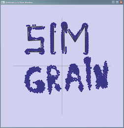Screenshot of SimGrain